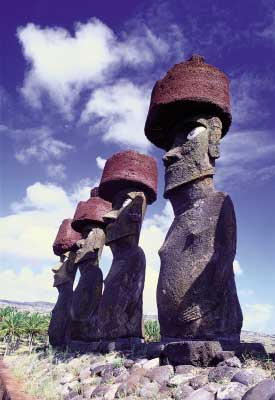 el misterio de isla de pascua: los moais
