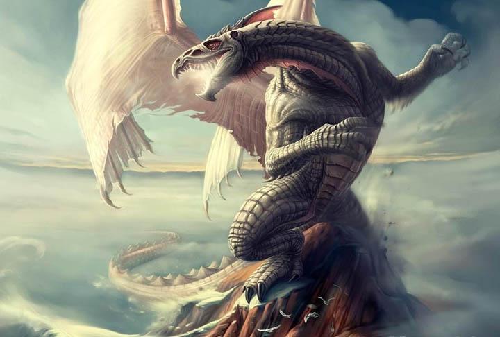 Mitología: Dibujos de Dragones | Asusta2
