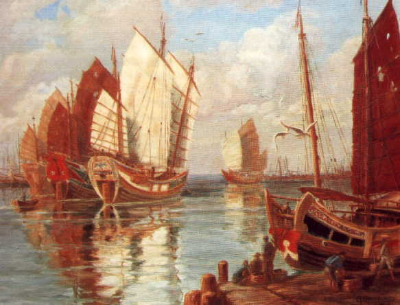 Chinos en América antes de la llegada de Colón