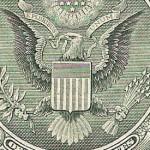 Aguila de los billetes de dolar