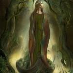La dama de verde