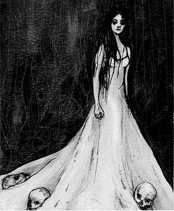 La dama vestida de blanco leyenda