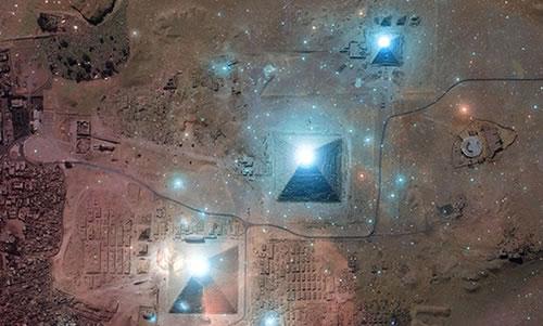 Resultado de imagen de relación entre la Gran Pirámide y el Cinturón de Orión