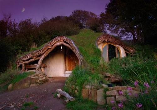 La casa hobbit de Simon Dale