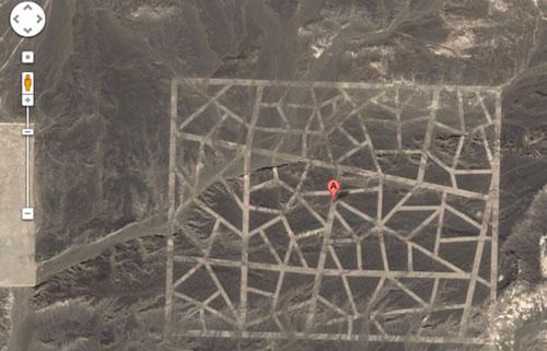 misteriosa silueta hayada en china por google earth
