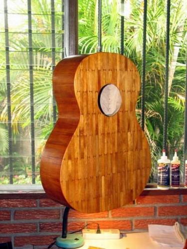Instrumentos Musicales Hecho con Palitos y Fosforos
