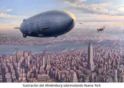 Dirigible Hindenburg