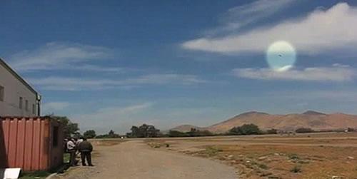 Aparicion OVNI en Chile durante exhibición aérea