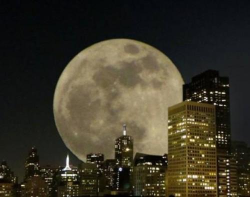 Fenómeno de la Super Luna