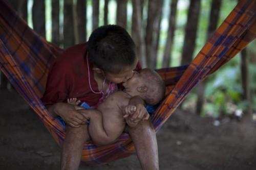 Tribu indigena Yanomami