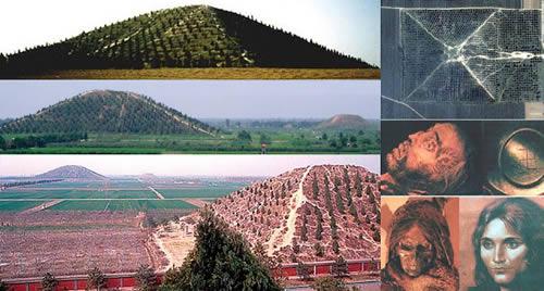 piramides ocultas en china