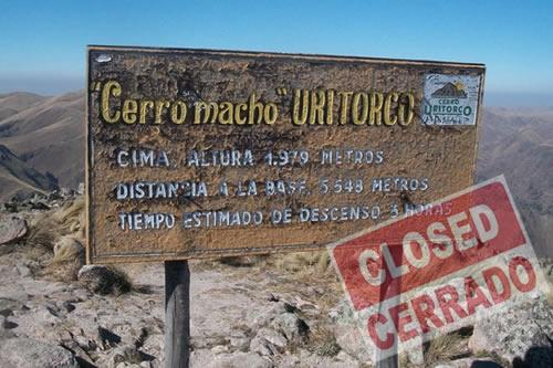 Cerro uritorco Cerrado