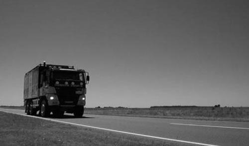 Saltos de tiempo en una ruta argentina