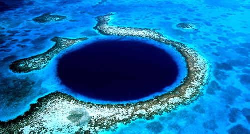 Gran agujero azul de Belice