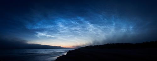Nube noctilucente