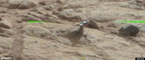 NASA descubre Metal en Marte