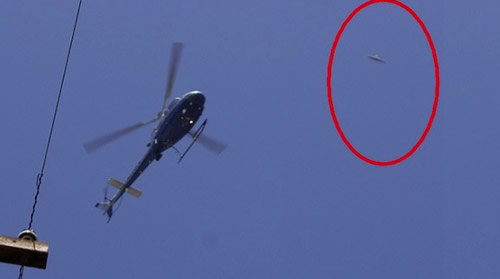 Ufo helicoptero