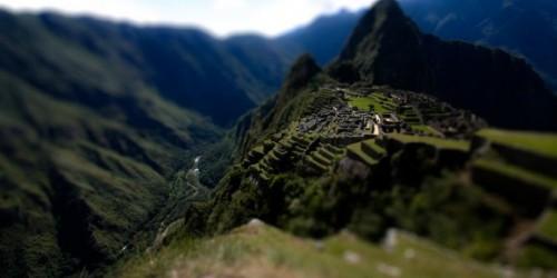 Puerta Secreta en las Ruinas del Machu Picchu