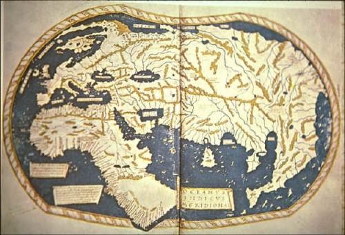 Mapa de Henricus Martellus de 1489