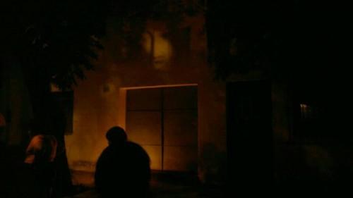 Aparece el rostro de cristo en una casa de Salta