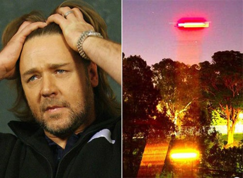 Russell Crowe UFO 2013