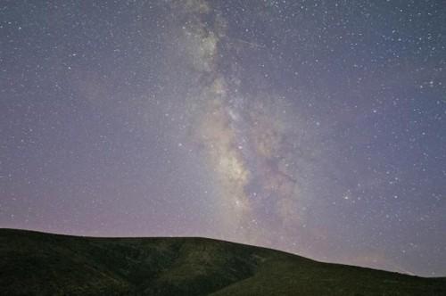 lluvia de estrellas sobre sudamerica