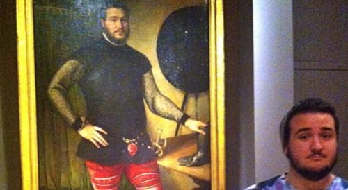 Se Encuentra a si mismo en una Pintura del Siglo XVI