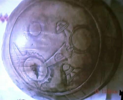 Misterioso Disco Maya descubierto en 2012