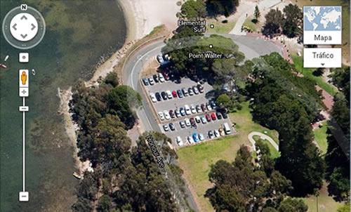 Un Misterio Vigente: Misterios : El Auto Flotante De Google Earth