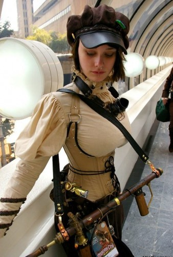 Chica-steampunk