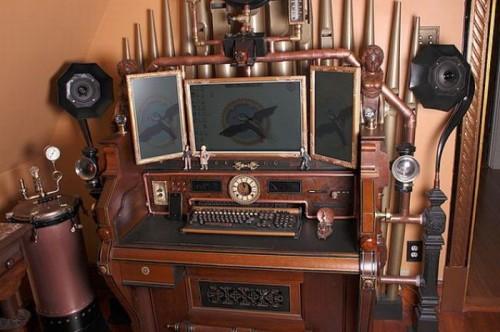 Computadora steampunk