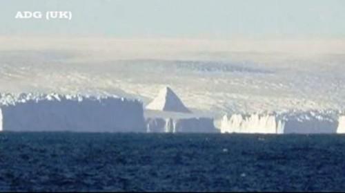 Enigmaticas Piramides de la Antartida
