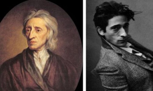Adrian Brody and philosopher John Locke