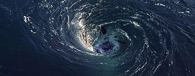 Descubren agujeros negros en el Océano Atlántico