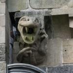 Gargola en forma de dragon