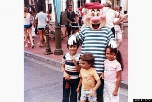 Donna y Alex en Disney 15 años antes de casarse