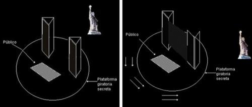 Desaparicion de la estatua de la libertad