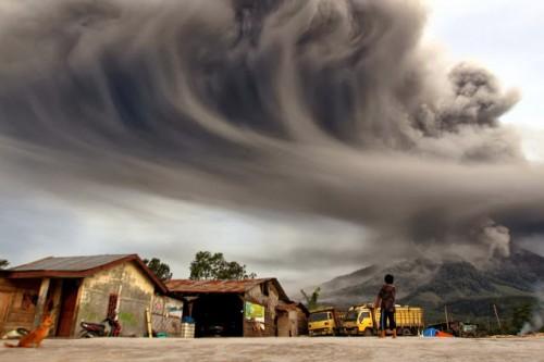 Volcanes en erupcion