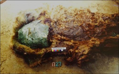 Misteriosas momias descubiertas en rusia