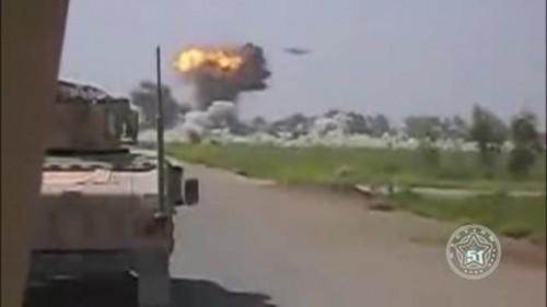 Ovni bombardea campamento militar taliban