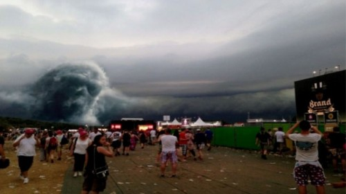 nubes monstruosas