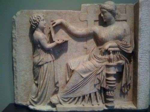 Nootebook en la Antigua Grecia