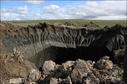video del crater siberiano