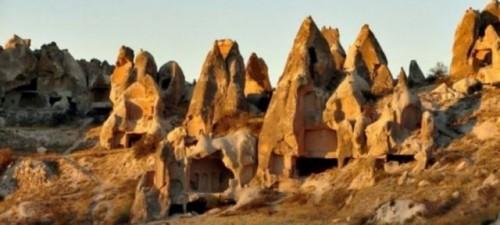 Capadocia Tuneles subterraneos