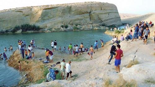 misterioso lago de tunez