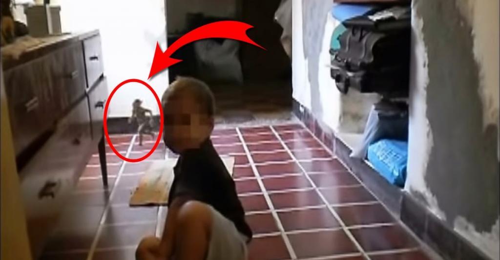 Misteriosa criatura en filmación casera