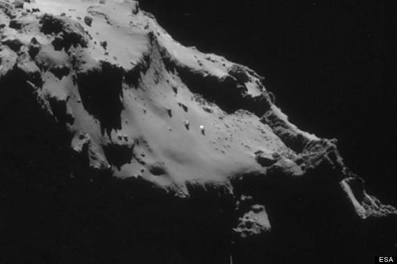 Ufo en cometa