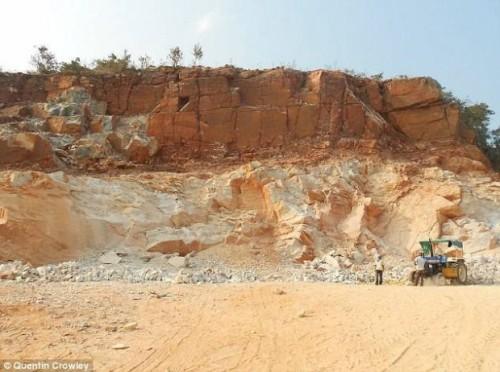 Singhbhum Cratón de Odisha