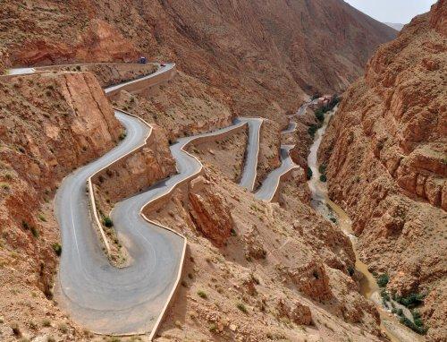 Dades Gorge Marruecos