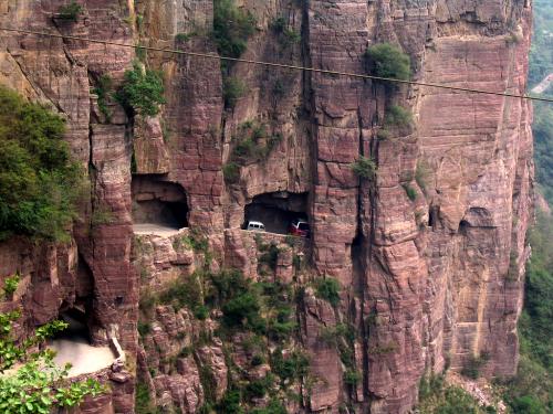 Túnel de Guoliang - China